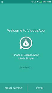 VicobaApp - náhled