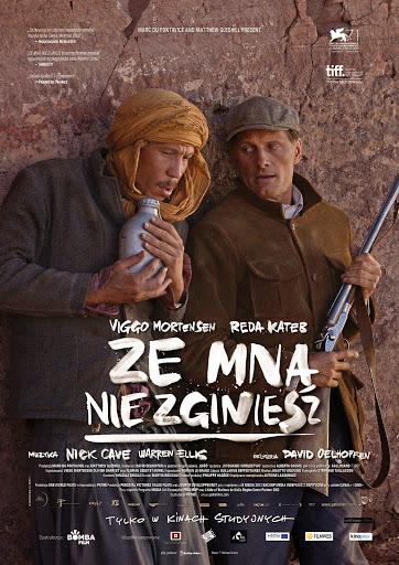 Przód ulotki filmu 'Ze Mną Nie Zginiesz'