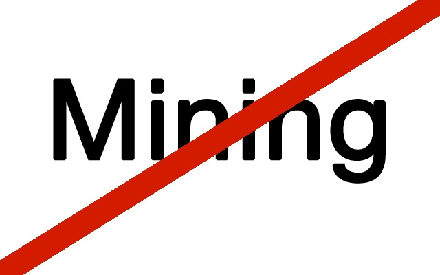 how to stop mining cryptocurrency