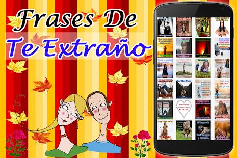 Frases De Te Extraño - náhled