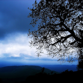 Himavad Gopalaswamy hills | Karnataka | INDIA by Shashank Ramesh - Landscapes Mountains & Hills ( nature, silhouette, landscape )