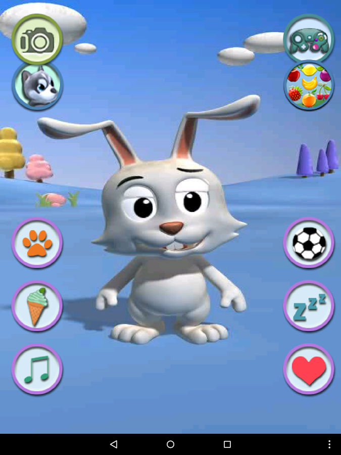 Talking Rabbit- screenshot