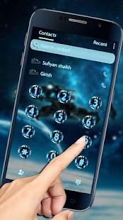 Space Galaxy 3D Theme - náhled