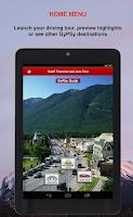 Screenshot of Banff Townsite GyPSy Tour