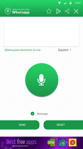 Audio to text for WhatsApp 1.5 screenshots 2