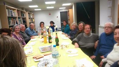 Photo: Josep Pla a la Biblioteca d'Hostalric