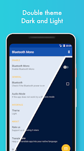 Bluetooth Mono Media Screenshot