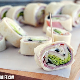 Ham & Cheese Roll Ups.