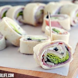 Ham & Cheese Roll Ups.