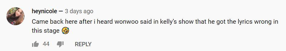 wonwoo kelly clarkson