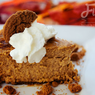 Pumpkin Cookie Butter Cheesecake