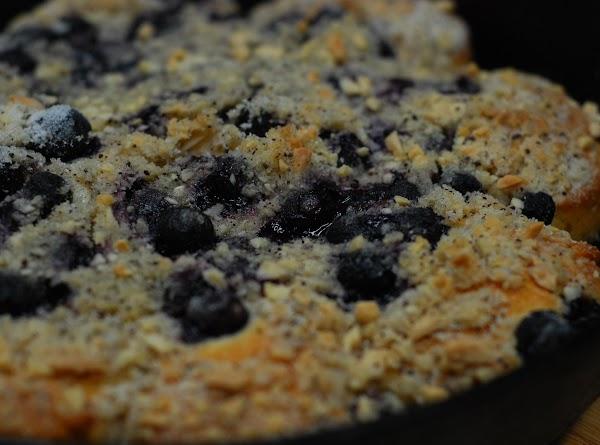 Blueberry Skillet Coffee Cake Recipe