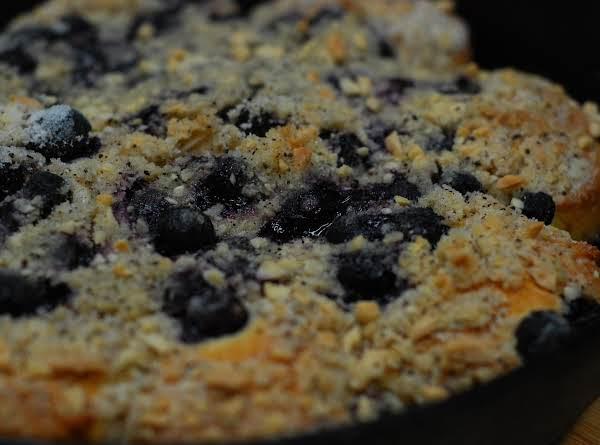 Blueberry Skillet Coffee Cake