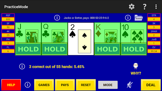 Play Perfect Video Poker Lite Hack for the game