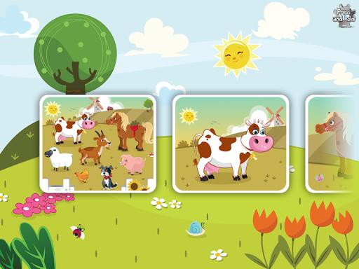 Animal Jigsaw Puzzle Toddlers 3.5 screenshots 9