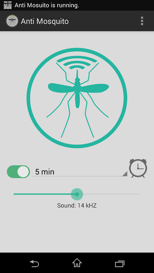 Программа отпугивание комаров андроид