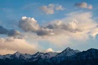 Photo: View from our hostel towards Stok-Kangri (6,137 m, 20,135 feet), Leh, Ladakh, Indian Himalayas