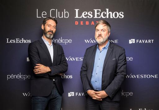 Club Les Echos Débats avec Sébastien Badault, Directeur général France d'Alibaba Group - Favart