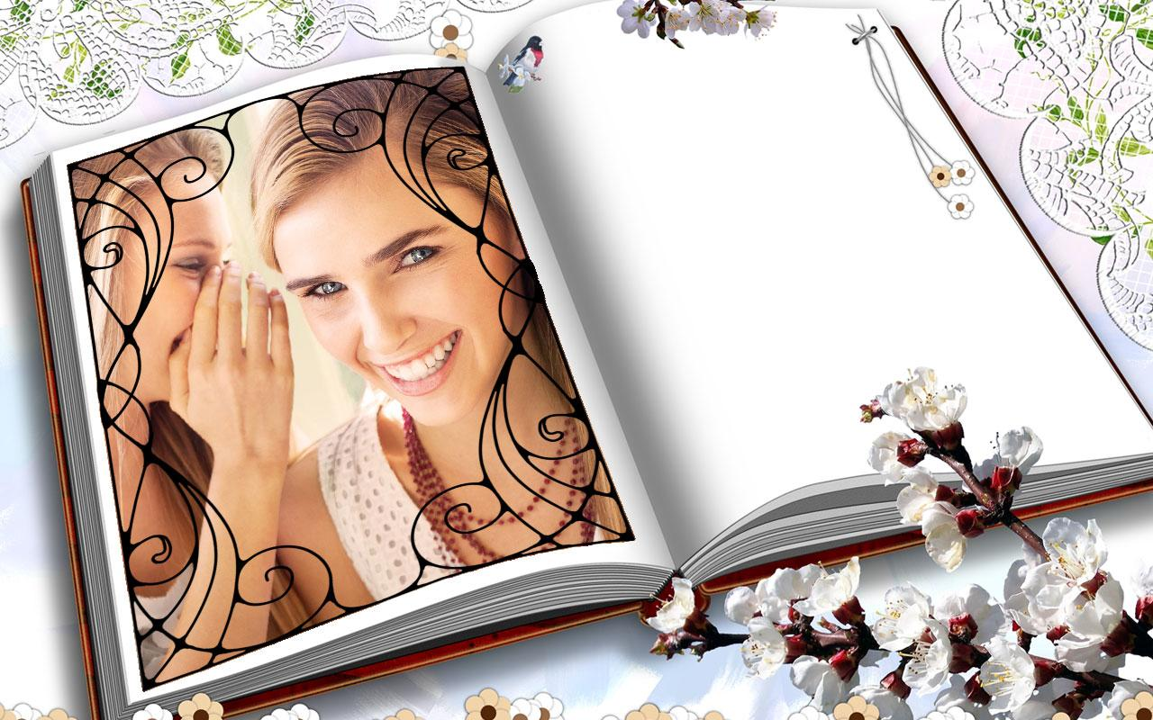 Book photo frame android apps on google play book photo frame screenshot jeuxipadfo Gallery