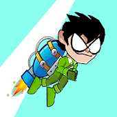 Titans Go Rocket Fly Game