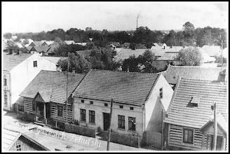 Photo: Ulica Mickiewicza. (Skan zdjęcia udostępnionego przez Panią Zofię Chmiel)