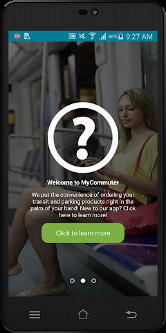 android MyCommuter Screenshot 1