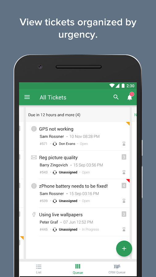 Zoho Desk- screenshot