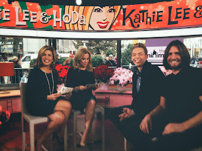 Photo: Today we stopped by the +TODAYshow to tape a special Minimalist Holiday segment. The interview airs Christmas Day. Big thanks to Kathie Lee and Hoda for chatting with us. #TODAYshow  #KLGandHoda