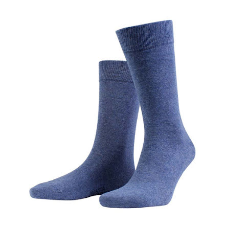 Amanda Christensen True ankle sock denim blue