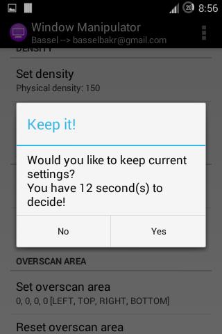 UI Tuner (ROOT) screenshot 3