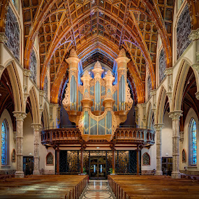 Magnificent Pipes of Holy Name Cathedral by John Williams - Buildings & Architecture Places of Worship ( pipe organ, cathedral, chicago, pipes, catholic church, places of worship )