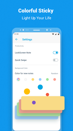 Screenshot for Idea Note: OCR Text Scanner,GTD,Color Notes in United States Play Store