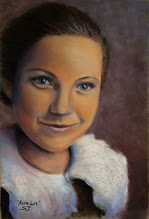 Photo: This is a portrait I did for my father of his mother (my grandmother) that passed away many years ago.