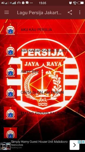 Lagu Persija Jakarta 2018 8.1 screenshots 2