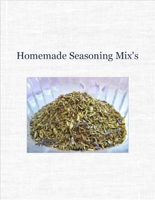 Homemade Seasoning Mix's