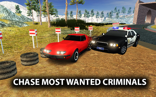 Police Car Gangster Chase - Vegas Crime Escape Sim 1.3 screenshots 1