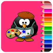 Drawing and Coloring Book icon