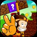 Jungle Monkey Run Saga World icon