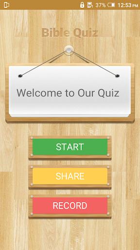 Bible Quiz - Religious Game 1.1 screenshots 2