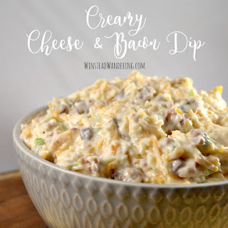 Creamy Cheese and Bacon Dip.