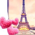 Cute Paris Live Wallpaper icon