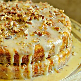 Pumpkin Praline Cake.