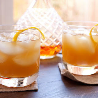 Apple Cider Shrub Cocktails.