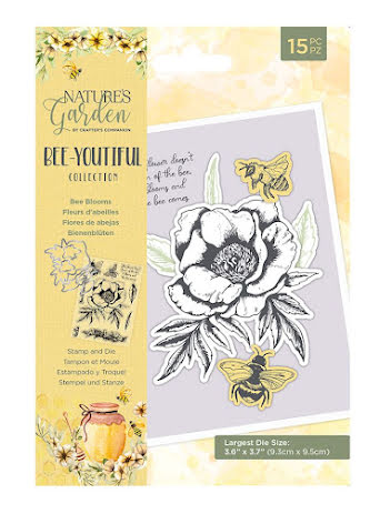 Natures Garden Bee-Youtiful Collection Stamp & Die- Bee Blooms