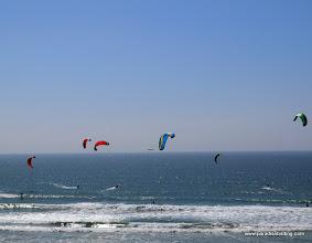 Photo: Parasailors along the San Diego Coast