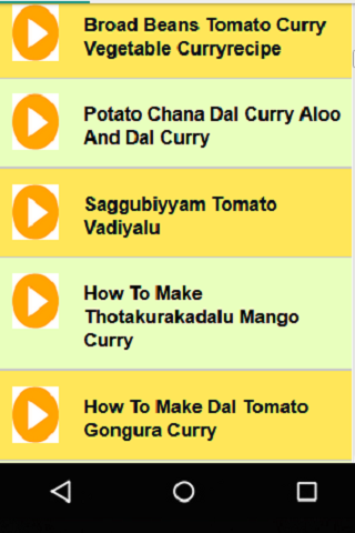 Telugu Vegetarian Curry Recipes