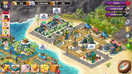 Fantasy Island Sim: Fun Forest Adventure APK MOD – Pièces Illimitées (Astuce) screenshots hack proof 1