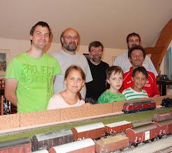 Photo: Modeleisenbahn und selbst aufbauen Foto: G. Zimmer