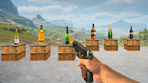 Bottle Shooting Real Expert Shooter 1.1 screenshots hack proof 1