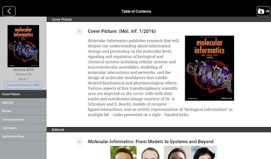 Molecular Informatics- screenshot thumbnail